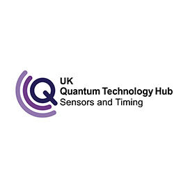 UK Quantum Technology Hub for Sensors and Timing logo