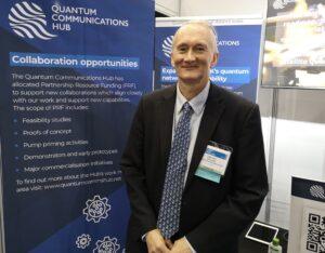 Professor Tim Spiller at Photonex 2021